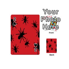 Illustration With Spiders Playing Cards 54 (mini)  by Nexatart