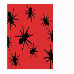 Illustration With Spiders Large Garden Flag (two Sides) by Nexatart