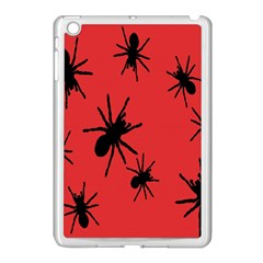 Illustration With Spiders Apple Ipad Mini Case (white) by Nexatart