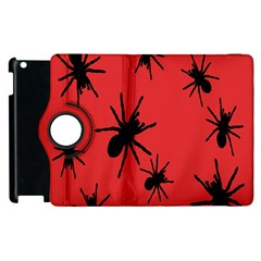 Illustration With Spiders Apple Ipad 3/4 Flip 360 Case