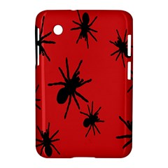 Illustration With Spiders Samsung Galaxy Tab 2 (7 ) P3100 Hardshell Case  by Nexatart