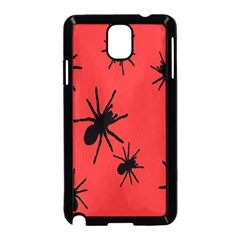 Illustration With Spiders Samsung Galaxy Note 3 Neo Hardshell Case (black) by Nexatart