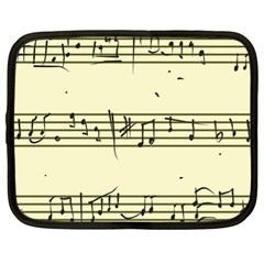 Music Notes On A Color Background Netbook Case (xl)