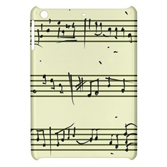 Music Notes On A Color Background Apple Ipad Mini Hardshell Case by Nexatart