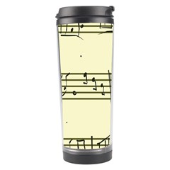 Music Notes On A Color Background Travel Tumbler by Nexatart