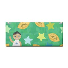 Football Kids Children Pattern Cosmetic Storage Cases by Nexatart