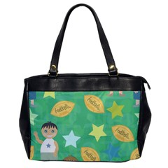Football Kids Children Pattern Office Handbags by Nexatart