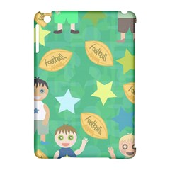 Football Kids Children Pattern Apple Ipad Mini Hardshell Case (compatible With Smart Cover) by Nexatart