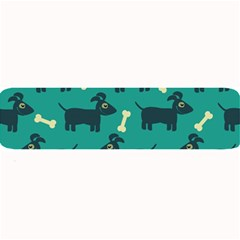 Happy Dogs Animals Pattern Large Bar Mats
