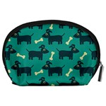Happy Dogs Animals Pattern Accessory Pouches (Large)  Back