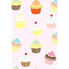 Seamless Cupcakes Wallpaper Pattern Background 5 5  X 8 5  Notebooks by Nexatart