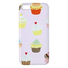 Seamless Cupcakes Wallpaper Pattern Background Iphone 5s/ Se Premium Hardshell Case by Nexatart