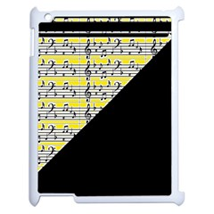 Note Abstract Paintwork Apple Ipad 2 Case (white) by Nexatart