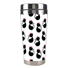 Cat Seamless Animals Pattern Stainless Steel Travel Tumblers by Nexatart