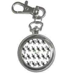 Insect Animals Pattern Key Chain Watches by Nexatart