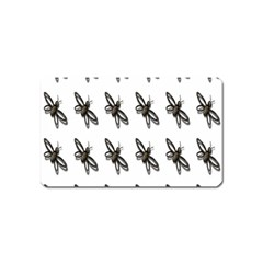 Insect Animals Pattern Magnet (name Card) by Nexatart