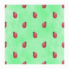 Pretty Background With A Ladybird Image Medium Glasses Cloth