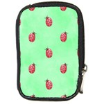 Pretty Background With A Ladybird Image Compact Camera Cases Front