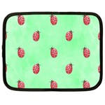 Pretty Background With A Ladybird Image Netbook Case (XXL)  Front