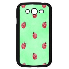 Pretty Background With A Ladybird Image Samsung Galaxy Grand Duos I9082 Case (black) by Nexatart