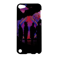 Abstract Surreal Sunset Apple Ipod Touch 5 Hardshell Case by Nexatart