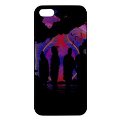 Abstract Surreal Sunset Apple Iphone 5 Premium Hardshell Case
