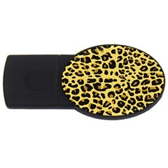 A Jaguar Fur Pattern Usb Flash Drive Oval (4 Gb)
