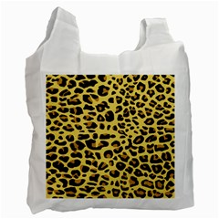 A Jaguar Fur Pattern Recycle Bag (one Side) by Nexatart