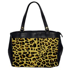 A Jaguar Fur Pattern Office Handbags by Nexatart