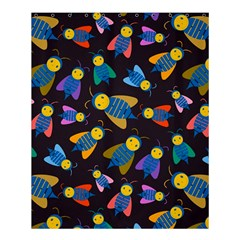 Bees Animal Insect Pattern Shower Curtain 60  X 72  (medium)  by Nexatart
