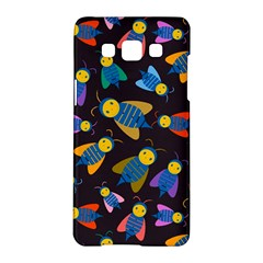 Bees Animal Insect Pattern Samsung Galaxy A5 Hardshell Case  by Nexatart