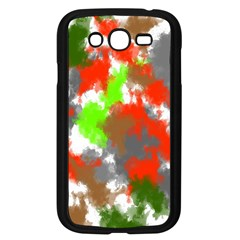 Abstract Watercolor Background Wallpaper Of Splashes  Red Hues Samsung Galaxy Grand Duos I9082 Case (black)