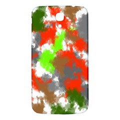 Abstract Watercolor Background Wallpaper Of Splashes  Red Hues Samsung Galaxy Mega I9200 Hardshell Back Case