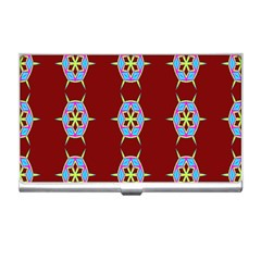 Geometric Seamless Pattern Digital Computer Graphic Wallpaper Business Card Holders