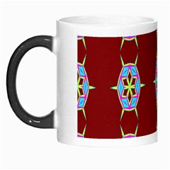 Geometric Seamless Pattern Digital Computer Graphic Wallpaper Morph Mugs