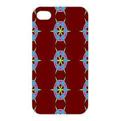 Geometric Seamless Pattern Digital Computer Graphic Wallpaper Apple Iphone 4/4s Premium Hardshell Case