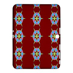 Geometric Seamless Pattern Digital Computer Graphic Wallpaper Samsung Galaxy Tab 4 (10 1 ) Hardshell Case  by Nexatart