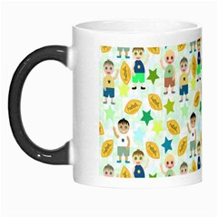 Football Kids Children Pattern Morph Mugs by Nexatart