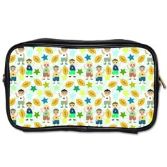 Football Kids Children Pattern Toiletries Bags by Nexatart