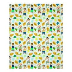 Football Kids Children Pattern Shower Curtain 60  X 72  (medium)  by Nexatart