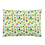 Football Kids Children Pattern Pillow Case (Two Sides) Back