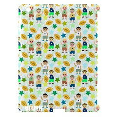 Football Kids Children Pattern Apple Ipad 3/4 Hardshell Case (compatible With Smart Cover) by Nexatart