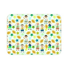 Football Kids Children Pattern Double Sided Flano Blanket (mini)  by Nexatart