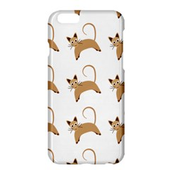 Cute Cats Seamless Wallpaper Background Pattern Apple Iphone 6 Plus/6s Plus Hardshell Case by Nexatart