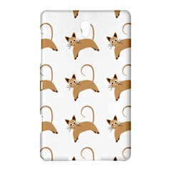Cute Cats Seamless Wallpaper Background Pattern Samsung Galaxy Tab S (8 4 ) Hardshell Case  by Nexatart