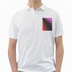 Flowers Digital Pattern Summer Woods Art Shapes Golf Shirts by Nexatart