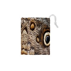 Butterfly Wing Detail Drawstring Pouches (xs)  by Nexatart