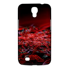 Red Fractal Valley In 3d Glass Frame Samsung Galaxy Mega 6 3  I9200 Hardshell Case by Nexatart