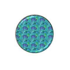 Elephants Animals Pattern Hat Clip Ball Marker (10 Pack)