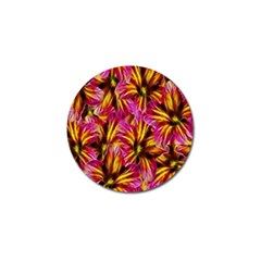 Floral Pattern Background Seamless Golf Ball Marker (10 Pack) by Nexatart